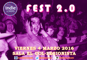 Póster 1 Indie Lovers Fest 2.0